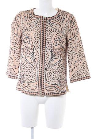 Zara Trafaluc Blouson abstraktes Muster Gypsy-Look
