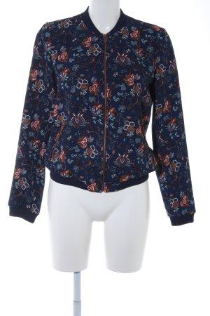 Zara Trafaluc Blouson florales Muster Street-Fashion-Look