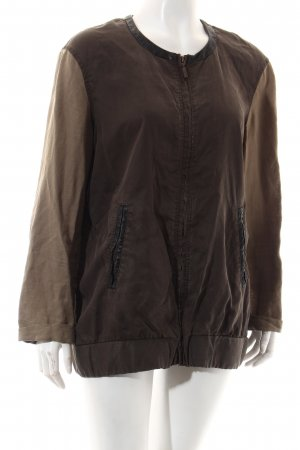 Zara Trafaluc Blouson khaki-dunkelgrün Casual-Look