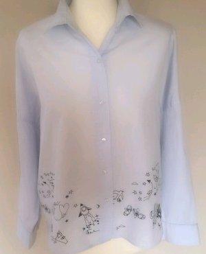 Zara Trafaluc Bluse Hemd süss Katze Gr M