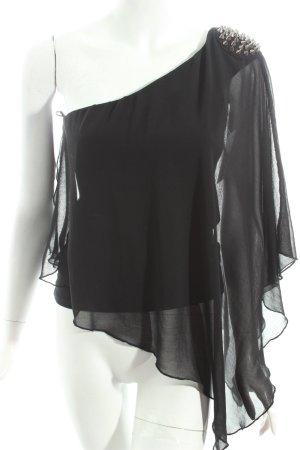 Zara Trafaluc Blouse noir style décontracté