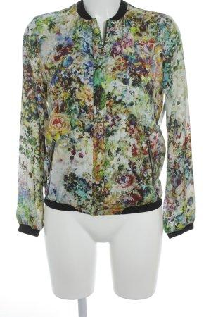 Zara Trafaluc Blusenjacke Blumenmuster minimalistischer Stil