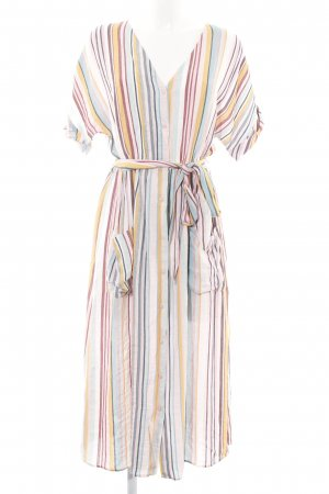Zara Trafaluc Blusenkleid Streifenmuster Casual-Look