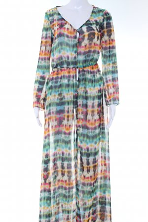 Zara Trafaluc Blusenkleid abstraktes Muster extravaganter Stil
