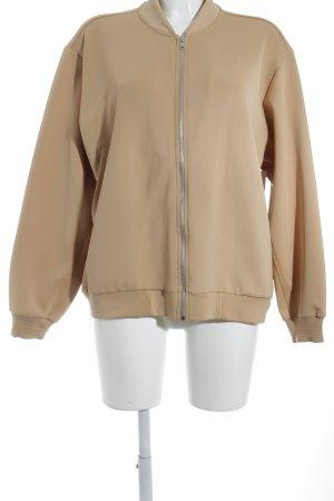 Zara Trafaluc Bomberjacke beige Casual-Look