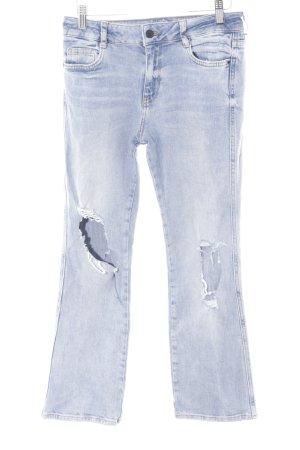 Zara Trafaluc Boot Cut spijkerbroek azuur casual uitstraling
