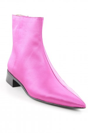 Zara Trafaluc Booties pink Street-Fashion-Look