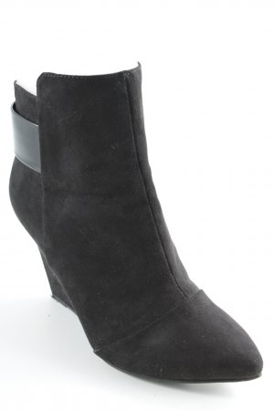 Zara Trafaluc Booties schwarz Party-Look