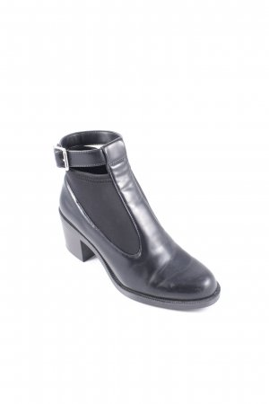 Zara Trafaluc Booties schwarz Street-Fashion-Look