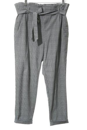 Zara Trafaluc Pantalon à pinces noir-blanc motif à carreaux