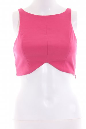Zara Trafaluc Bustier Top pink street-fashion look
