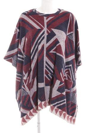 Zara Trafaluc Cape motif ethnique style Boho