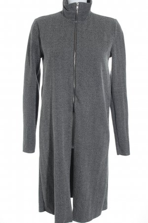 Zara Trafaluc Cardigan grau-wollweiß meliert minimalistischer Stil