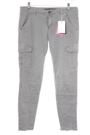 Zara Trafaluc Pantalone cargo grigio stile boyfriend
