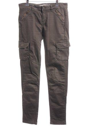 Zara Trafaluc Cargo Pants khaki casual look