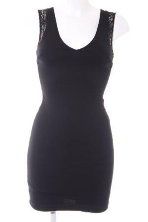 Zara Trafaluc Cocktailkleid schwarz Webmuster klassischer Stil