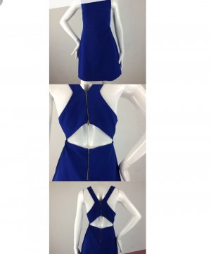 ZARA trafaluc collection mididress with cut out