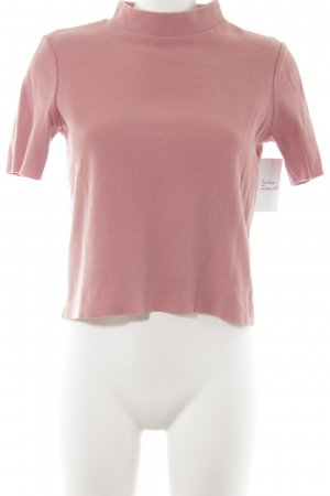 Zara Trafaluc Cropped Shirt altrosa Casual-Look