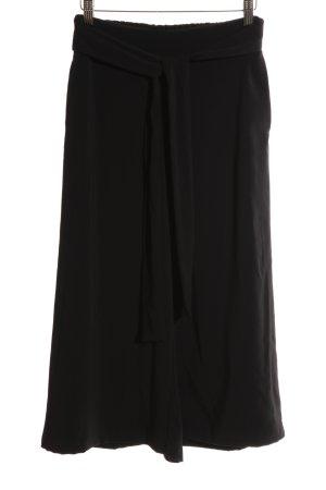 Zara Trafaluc Pantalone culotte nero stile professionale