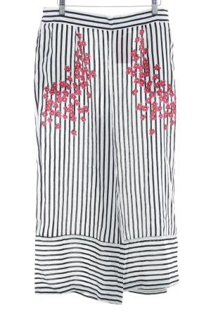 Zara Trafaluc Culottes striped pattern Boho look