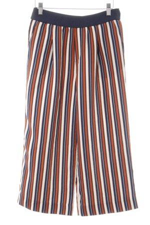Zara Trafaluc Culottes striped pattern casual look