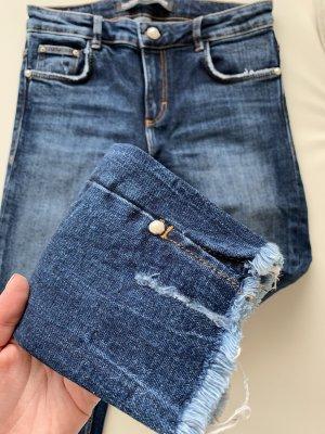 ZARA Trafaluc Denim Collection Jeans Blau Gr.36/S Neuwertig