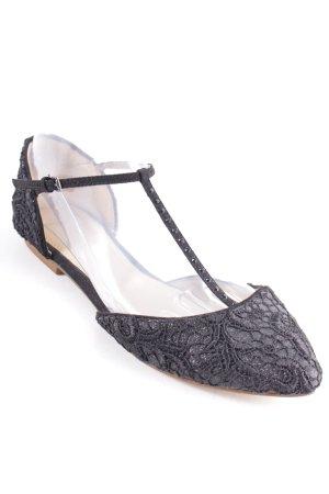 Zara Trafaluc Espadrillas nero elegante