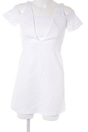 Zara Trafaluc Etuikleid weiß Elegant
