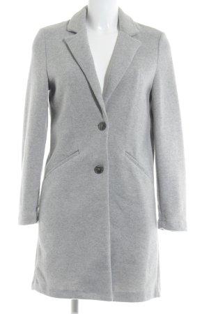 Zara Trafaluc Cappotto in pile grigio chiaro-grigio puntinato stile casual