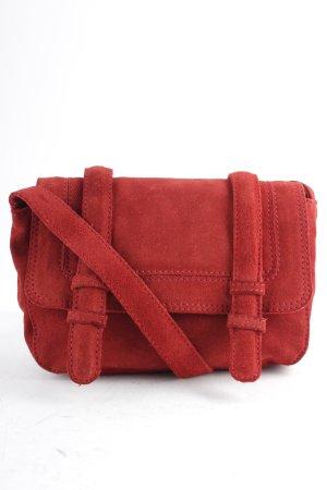Zara Trafaluc Handtasche rostrot Street-Fashion-Look