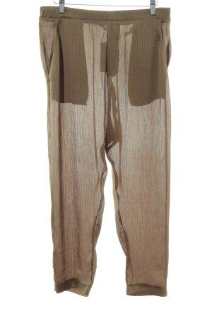 Zara Trafaluc Pantalón estilo Harem marrón look casual