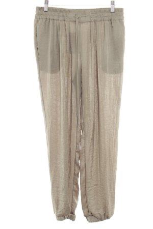 Zara Trafaluc Harem Pants natural white casual look