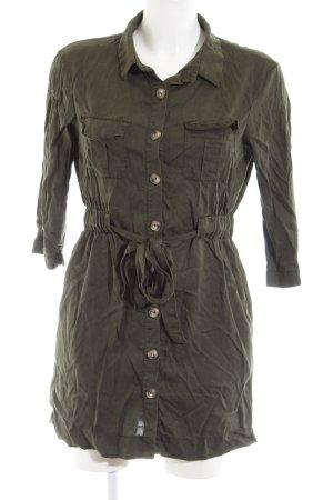Zara Trafaluc Vestido tipo blusón caqui estilo «business»