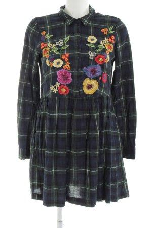 Zara Trafaluc Hemdblusenkleid Blumenmuster Casual-Look