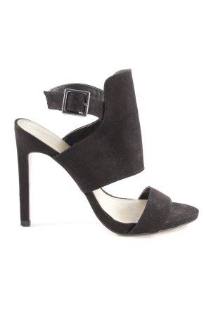 Zara Trafaluc High Heel Sandaletten schwarz Elegant