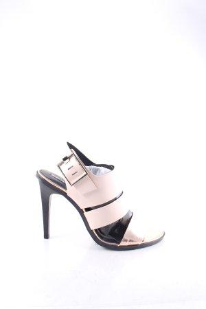 Zara Trafaluc High Heel Sandaletten roségoldfarben-altrosa Elegant