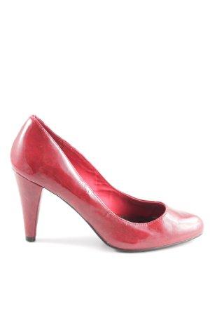 Zara Trafaluc High Heels rot Elegant