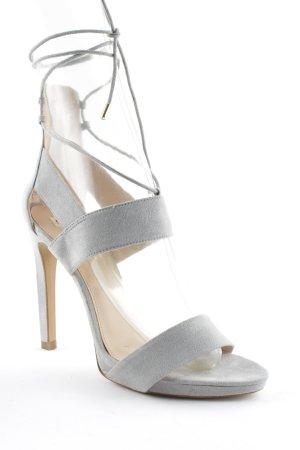 Zara Trafaluc High Heels hellgrau Elegant