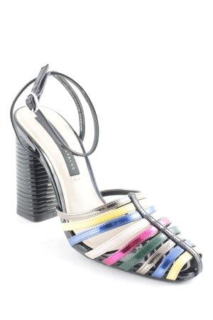 Zara Trafaluc High Heels mehrfarbig extravaganter Stil