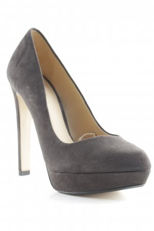 Zara Trafaluc High Heels schwarz Casual-Look