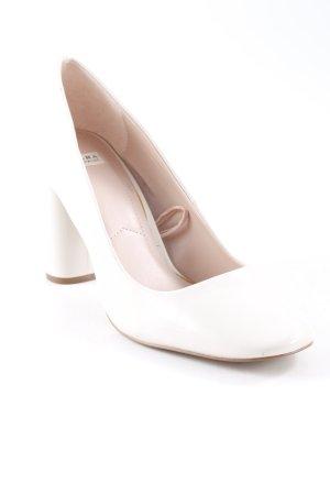 Zara Trafaluc High Heels wollweiß Elegant