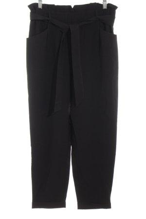 Zara Trafaluc Pantalone a vita alta nero stile professionale