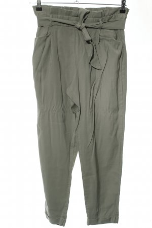 Zara Trafaluc High-Waist Hose khaki Business-Look