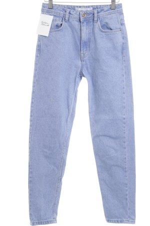 Zara Trafaluc High Waist Jeans hellblau Casual-Look
