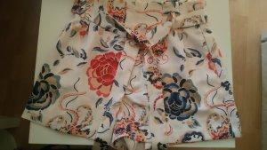 Zara Trafaluc High-Waist-Shorts multicolored