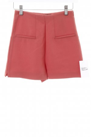 Zara Trafaluc Short taille haute saumon style simple