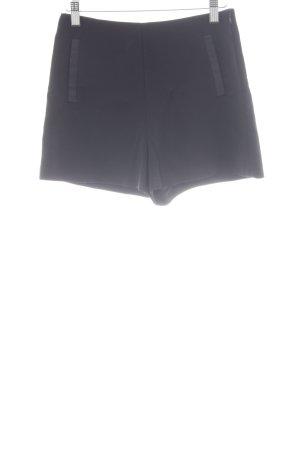 Zara Trafaluc High-Waist-Shorts schwarz Casual-Look