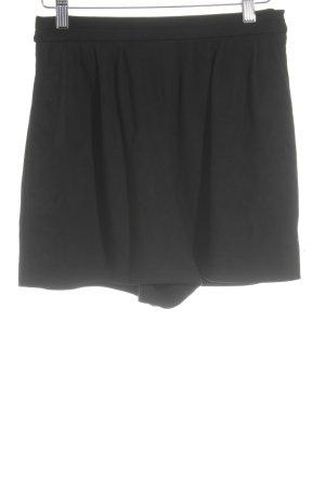 Zara Trafaluc High-Waist-Shorts schwarz minimalistischer Stil