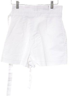 Zara Trafaluc High-Waist-Shorts wollweiß Casual-Look
