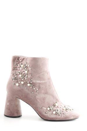 Zara Trafaluc Décolleté accollato rosa elegante